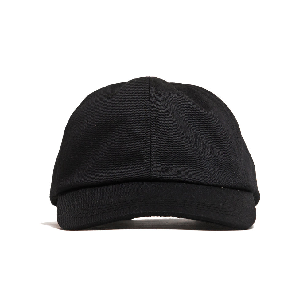 Lost & Found Canvas Baseball Hat Black at shoplostfound, front