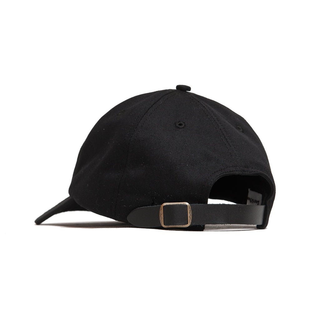 Lost & Found Canvas Baseball Hat Black at shoplostfound, back
