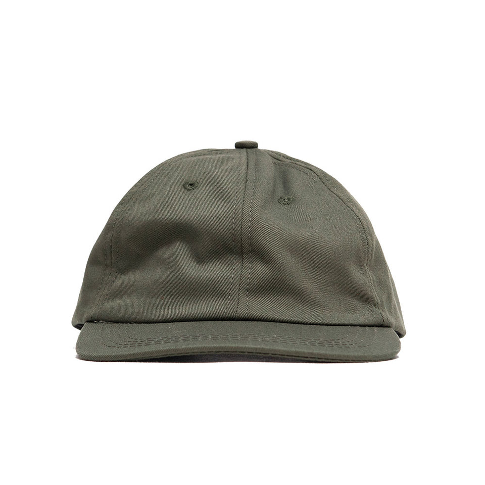 Lost & Found Canvas Baseball Hat Jalapeño at shoplostfound, front