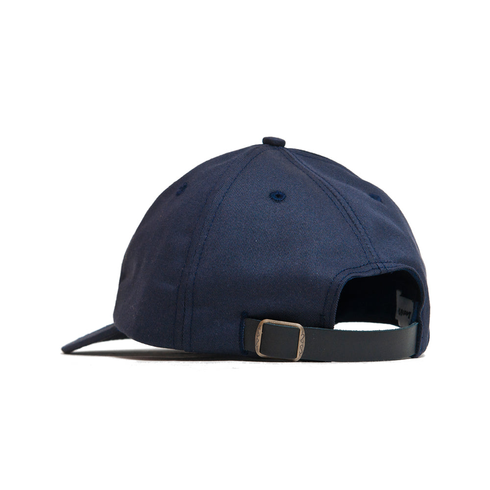 Lost & Found Canvas Baseball Hat Navy at shoplostfound, back