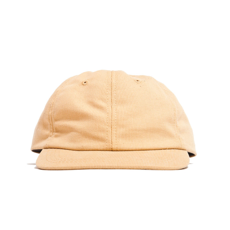 Lost & Found Corduroy Baseball Hat Amber at shoplostfound, front