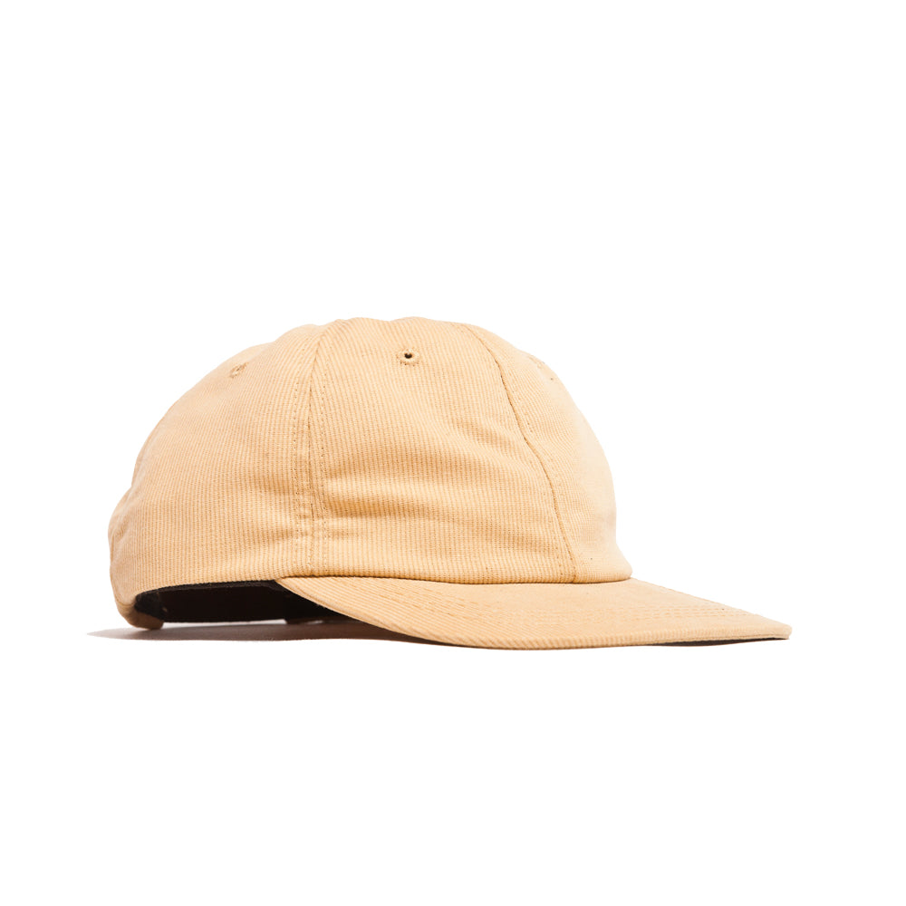 Lost & Found Corduroy Baseball Hat Amber at shoplostfound, 45