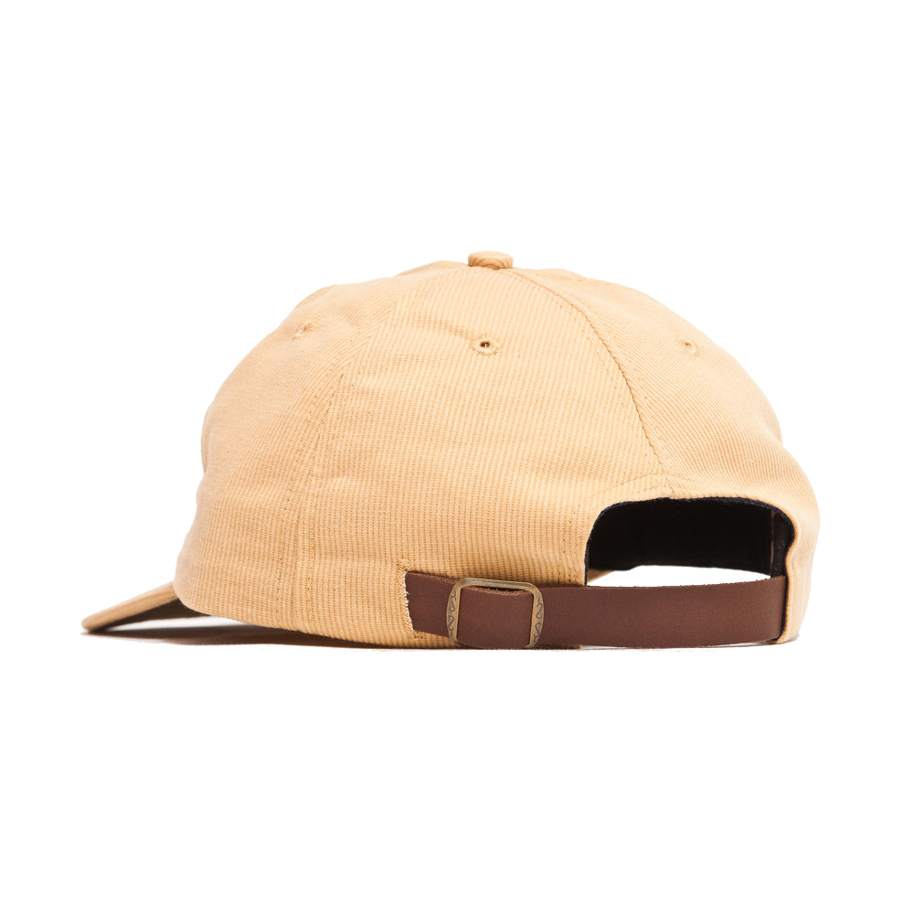 Lost & Found Corduroy Baseball Hat Amber at shoplostfound, back