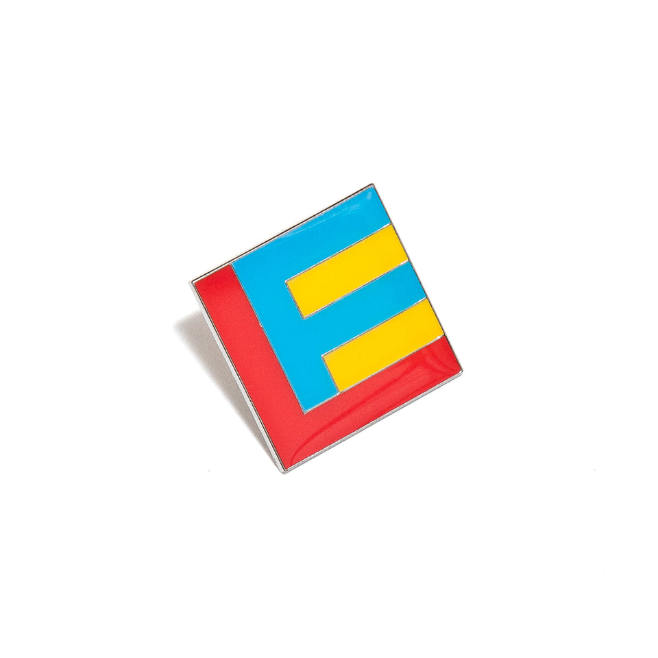 Lost & Found Flag Pin at shoplostfound