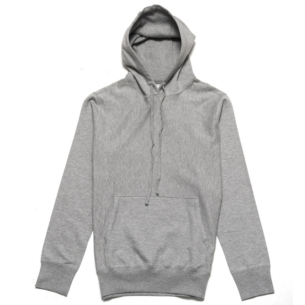lost & found Mid Weight Pullover Hoodie Heather Grey at shoplostfound, front