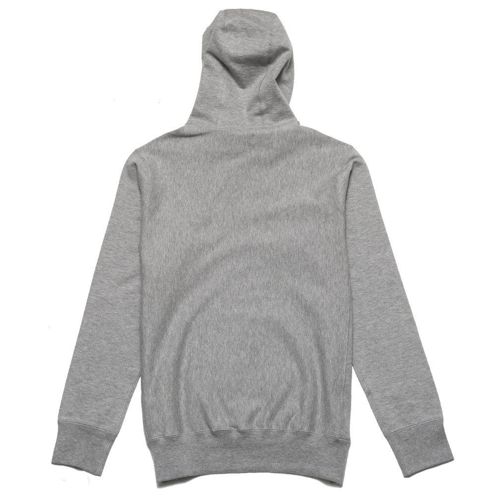 lost & found Mid Weight Pullover Hoodie Heather Grey at shoplostfound, back