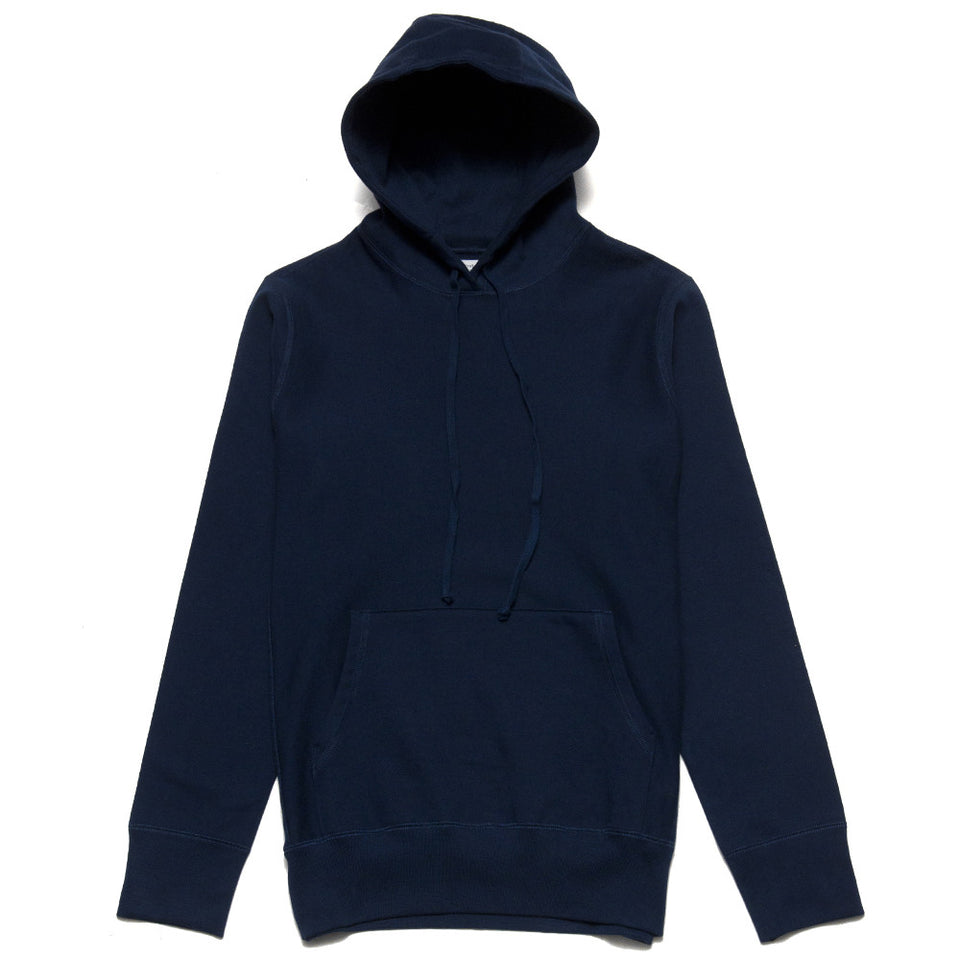 lost & found Mid Weight Pullover Hoodie Navy at shoplostfound, front