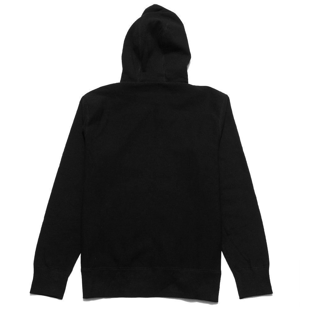 lost & found Zip Hoodie Black at shoplostfound, back