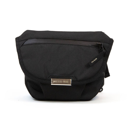 master-piece Flappy Shoulder Bag Black