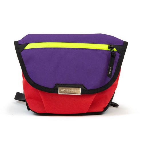 master-piece Flappy Shoulder Bag Purple