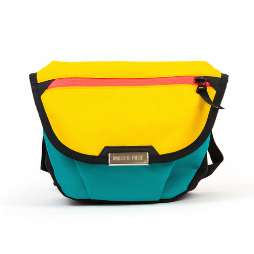 master-piece Flappy Shoulder Bag Yellow