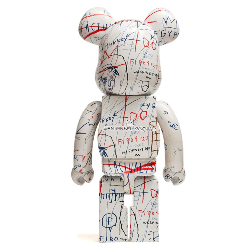 Medicom Toy x Jean-Michel Basquiat 1000% Bearbrick at shoplostfound, back