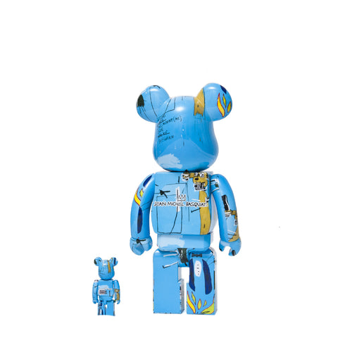 Medicom Toy x Jean-Michel Basquiat #4 100% + 400% Bearbrick at shoplostfound 1