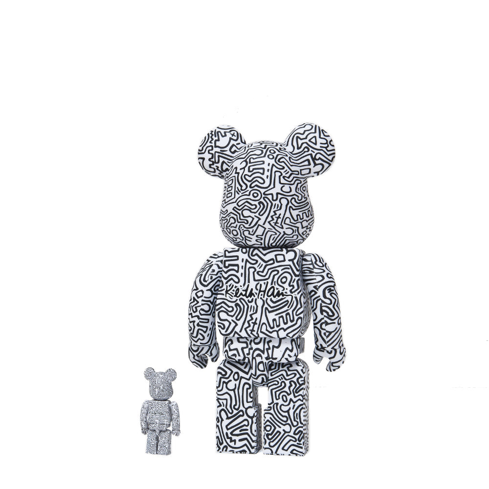 Medicom Toy x Keith Haring #4 100% + 400% Bearbrick at shoplostfound 2