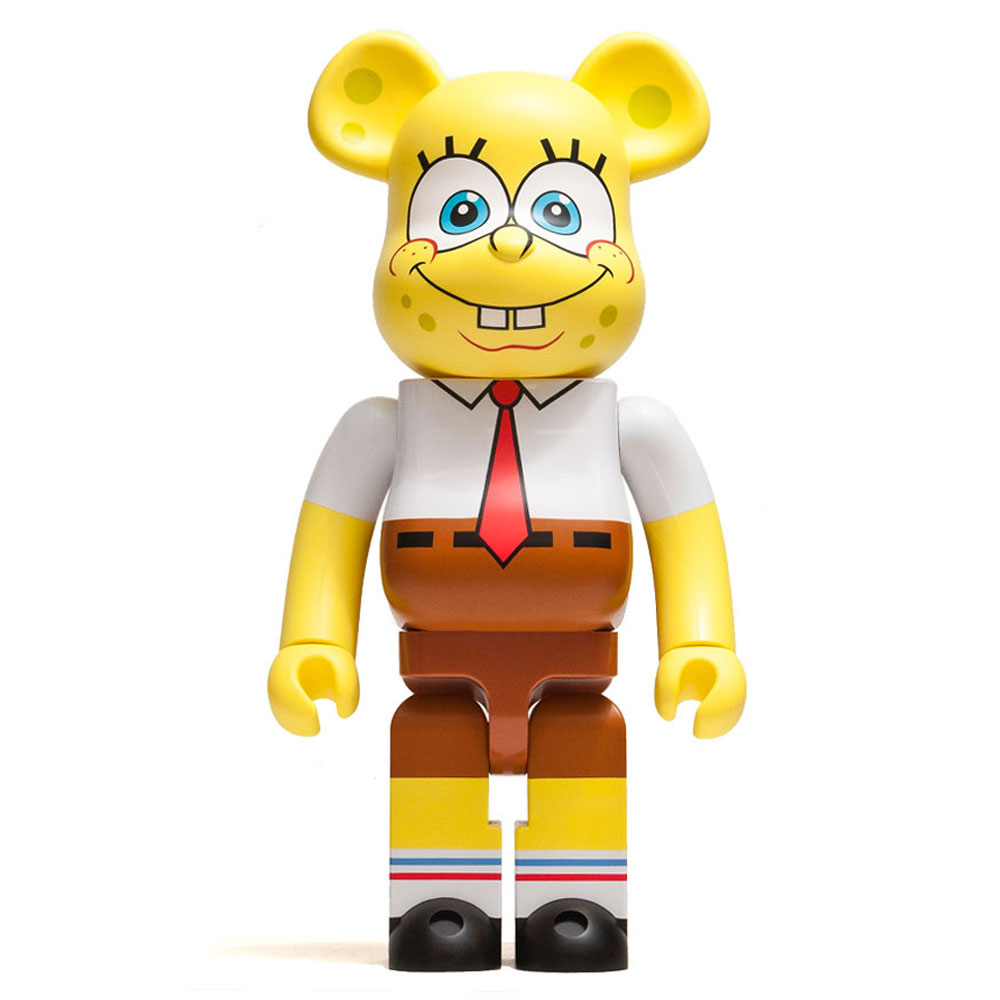 Medicom Toy x SpongeBob SquarePants 1000% Bearbrick  at shoplostfound, front
