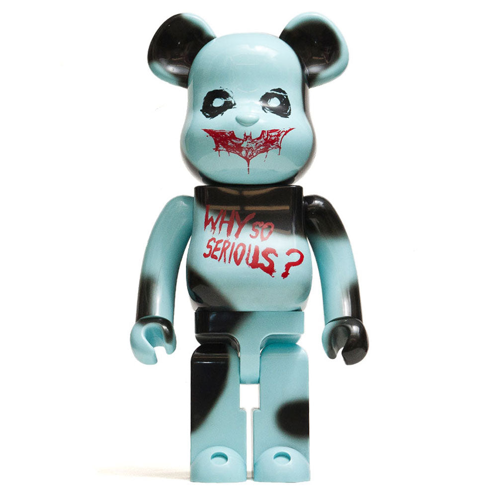 Medicom Toy x The Joker - Why So Serious? 1000% Bearbrick at shoplostfound, front
