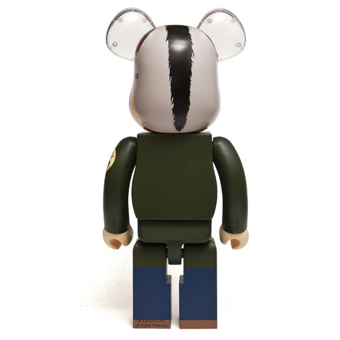 Medicom Toy x Travis Bickle 1000% Bearbrick at shoplostfound, front