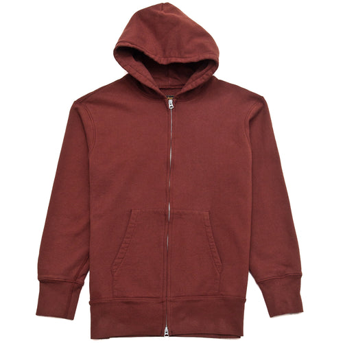 National Athletic Goods for Lost & Found Zip Gusset Parka Clay at shoplostfound, front