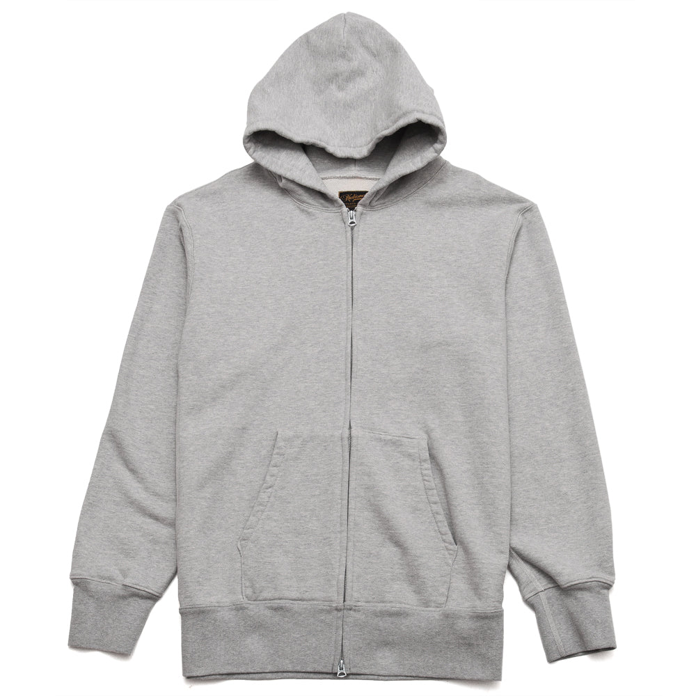 National Athletic Goods for Lost & Found Zip Gusset Parka Grey at shoplostfound, front