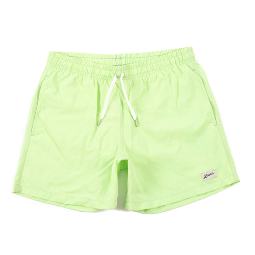 Bather Solid Pistachio Swim Trunk