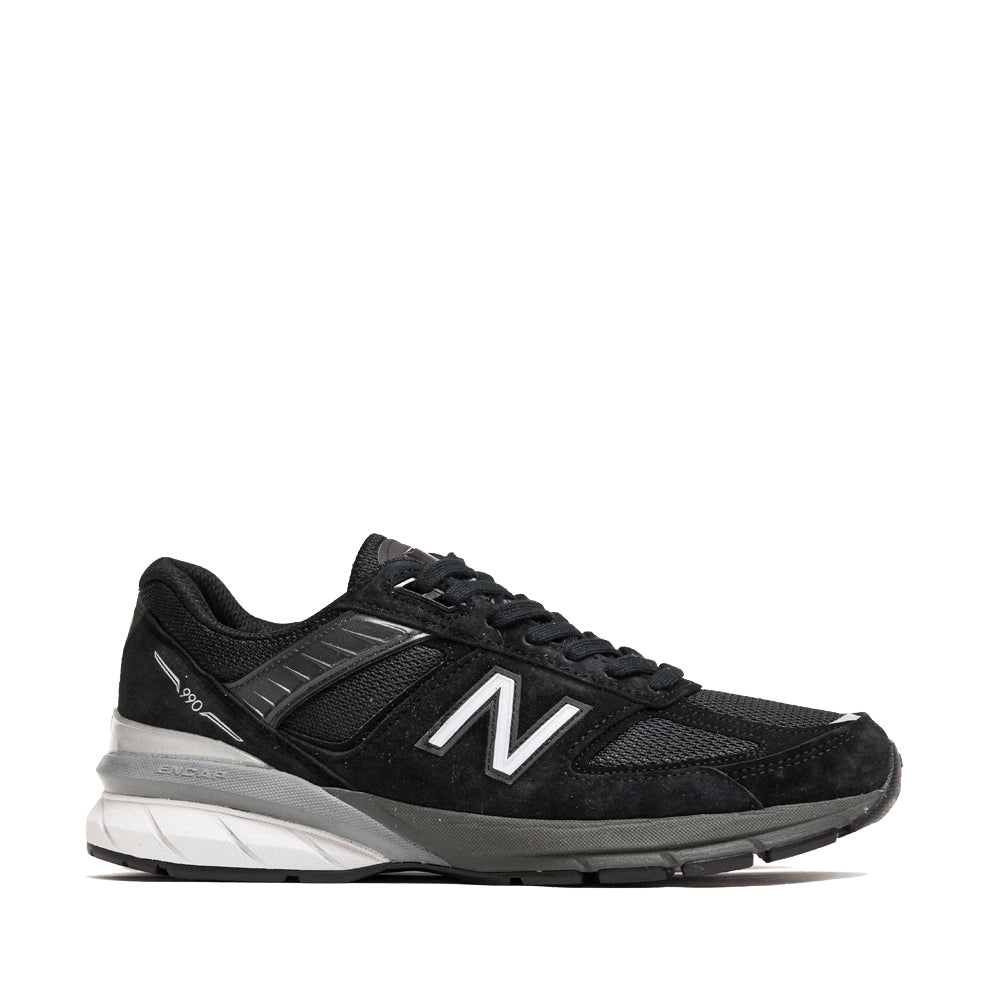 New Balance M990BK5 Black at shoplostfound, side