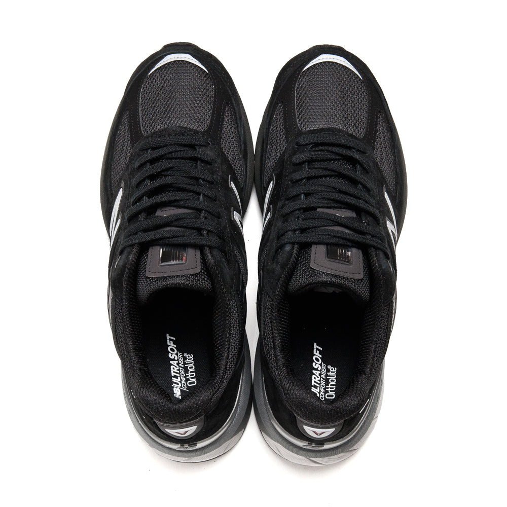 New Balance M990BK5 Black at shoplostfound, top