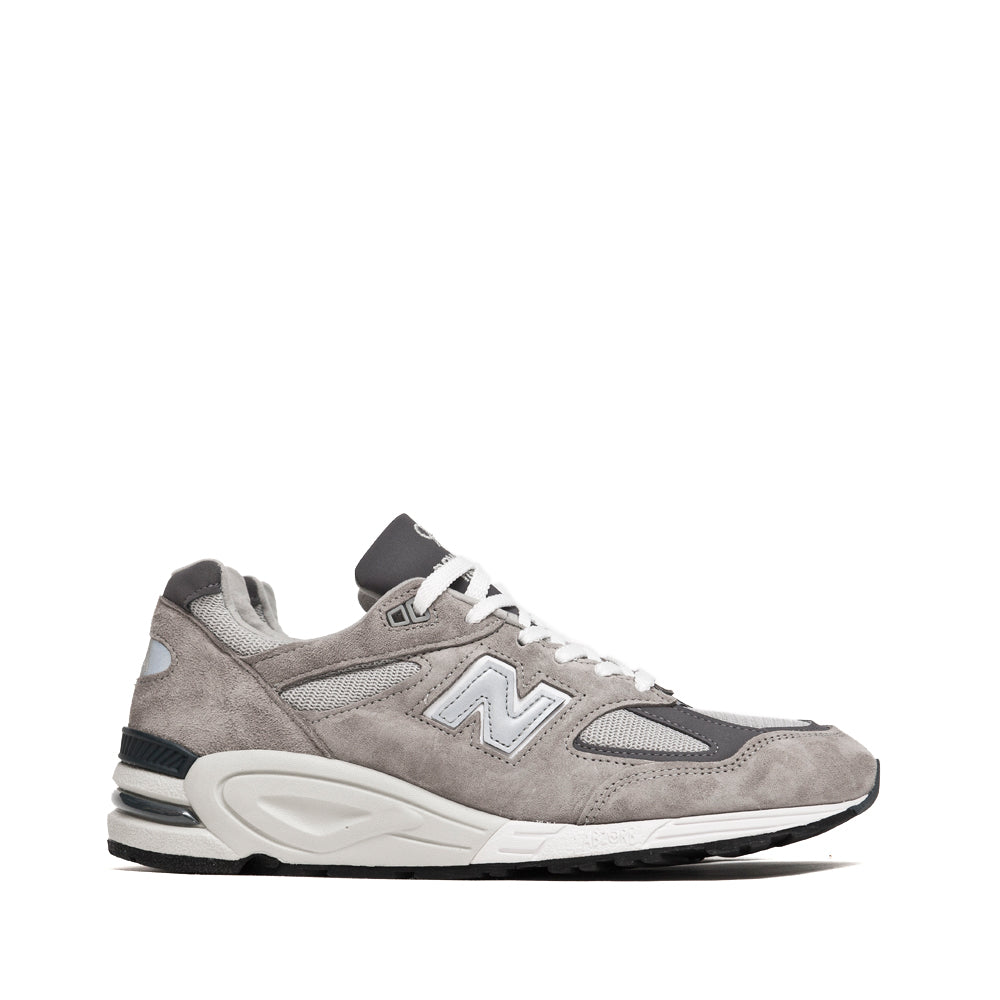 New Balance M990GR2 Grey at shoplostfound, side