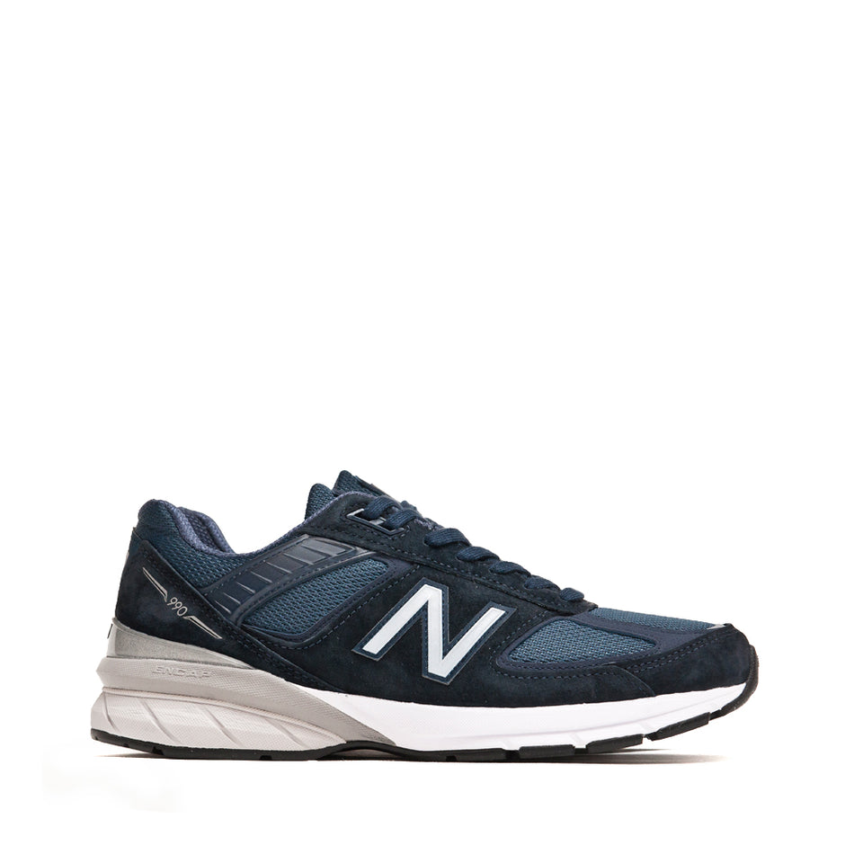 New Balance M990NV5 Navy at shoplostfound, side