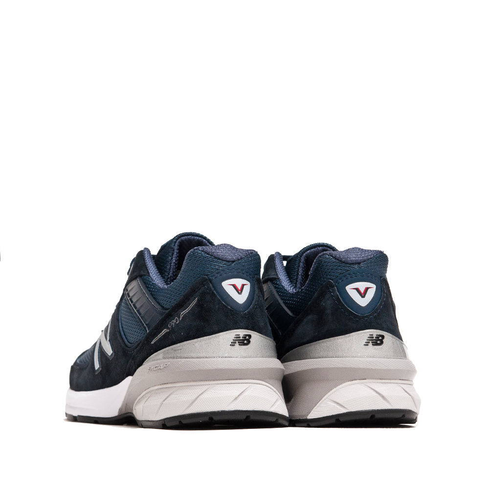 New Balance M990NV5 Navy at shoplostfound, back