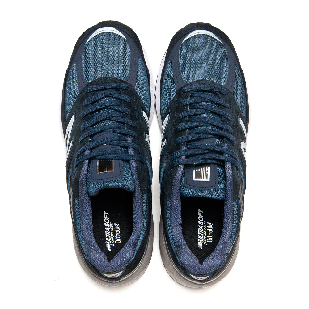 New Balance M990NV5 Navy at shoplostfound, top