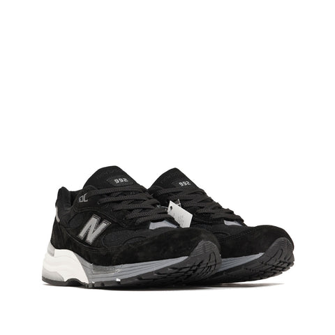 New Balance M992BL Black shoplostfound side