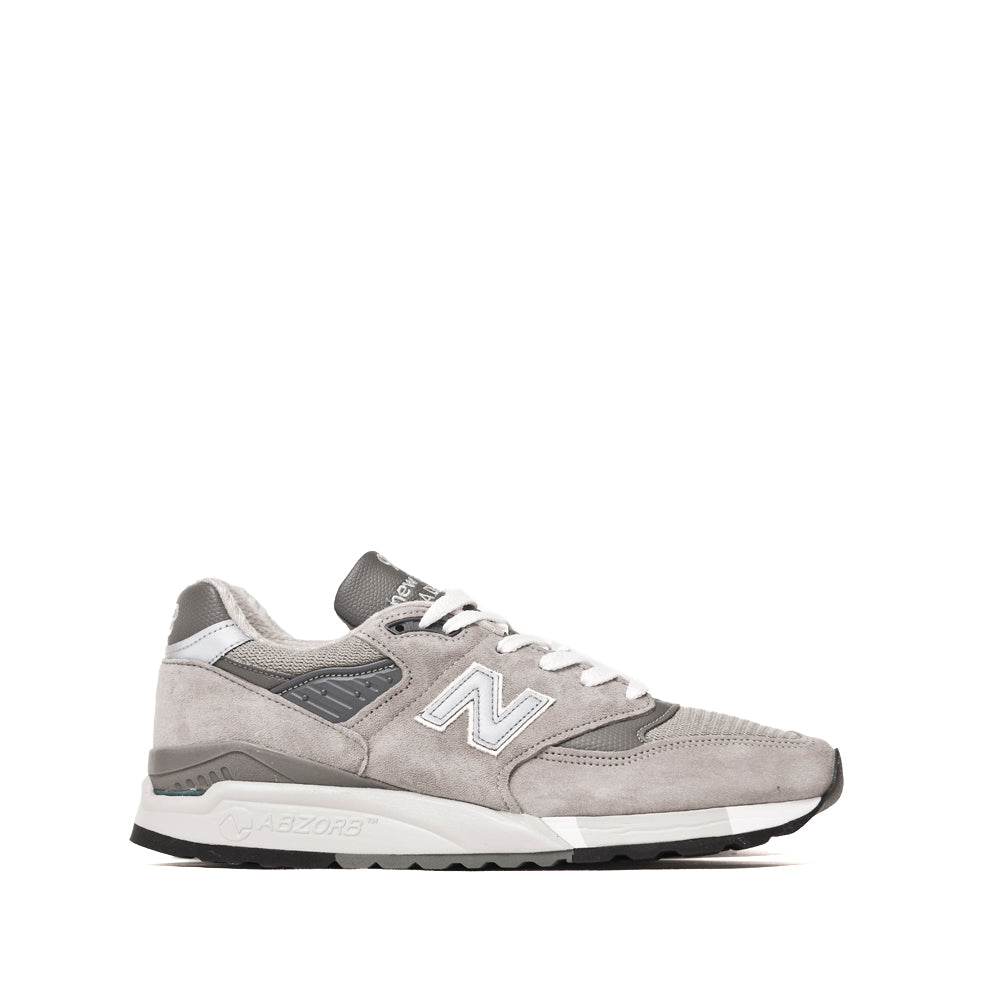 New Balance M998 Grey at shoplostfound, side