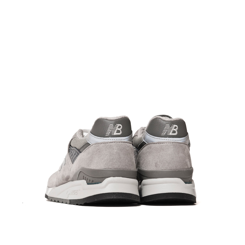 New Balance M998 Grey at shoplostfound, back