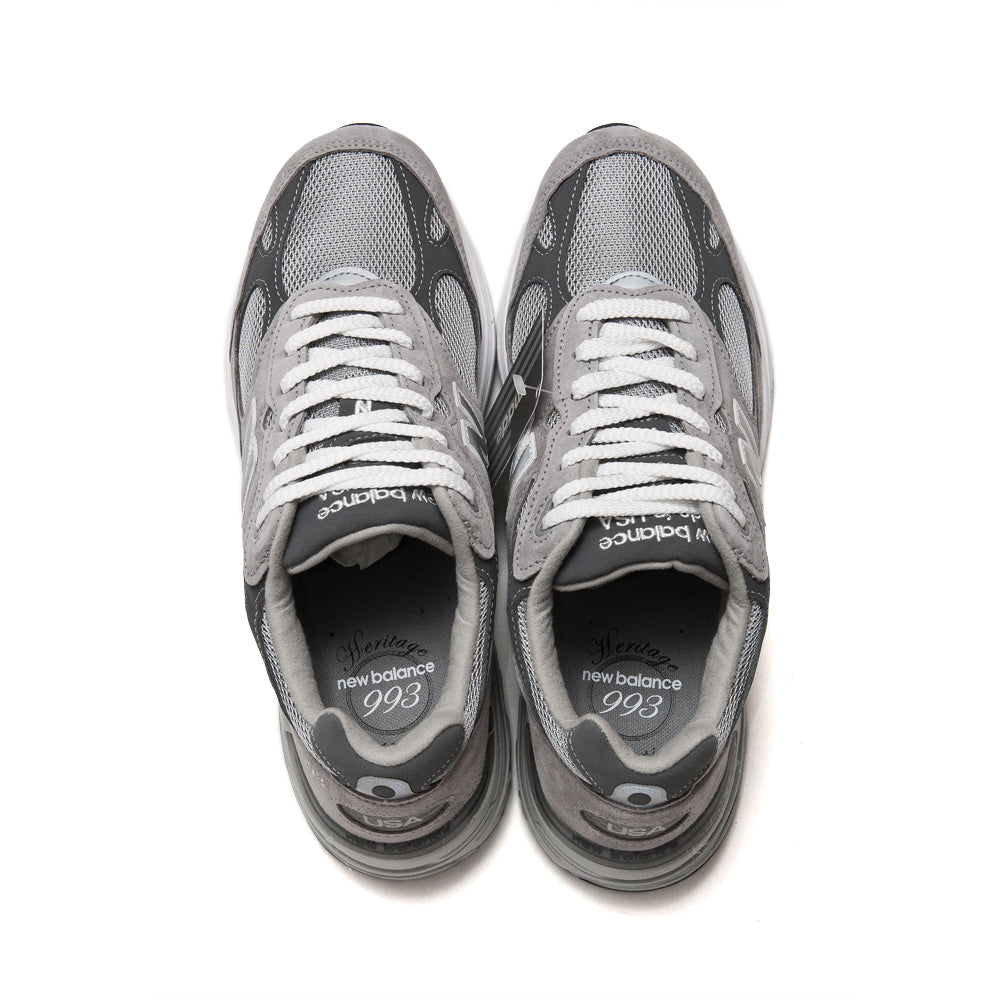 New Balance MR993GL Grey at shoplostfound, top