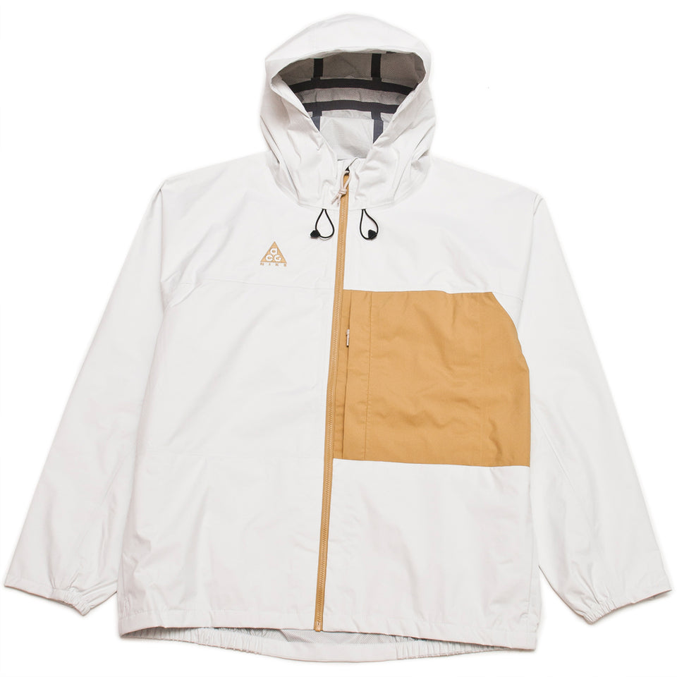 Nike ACG Packable Rain Jacket Summit White/Club Gold
