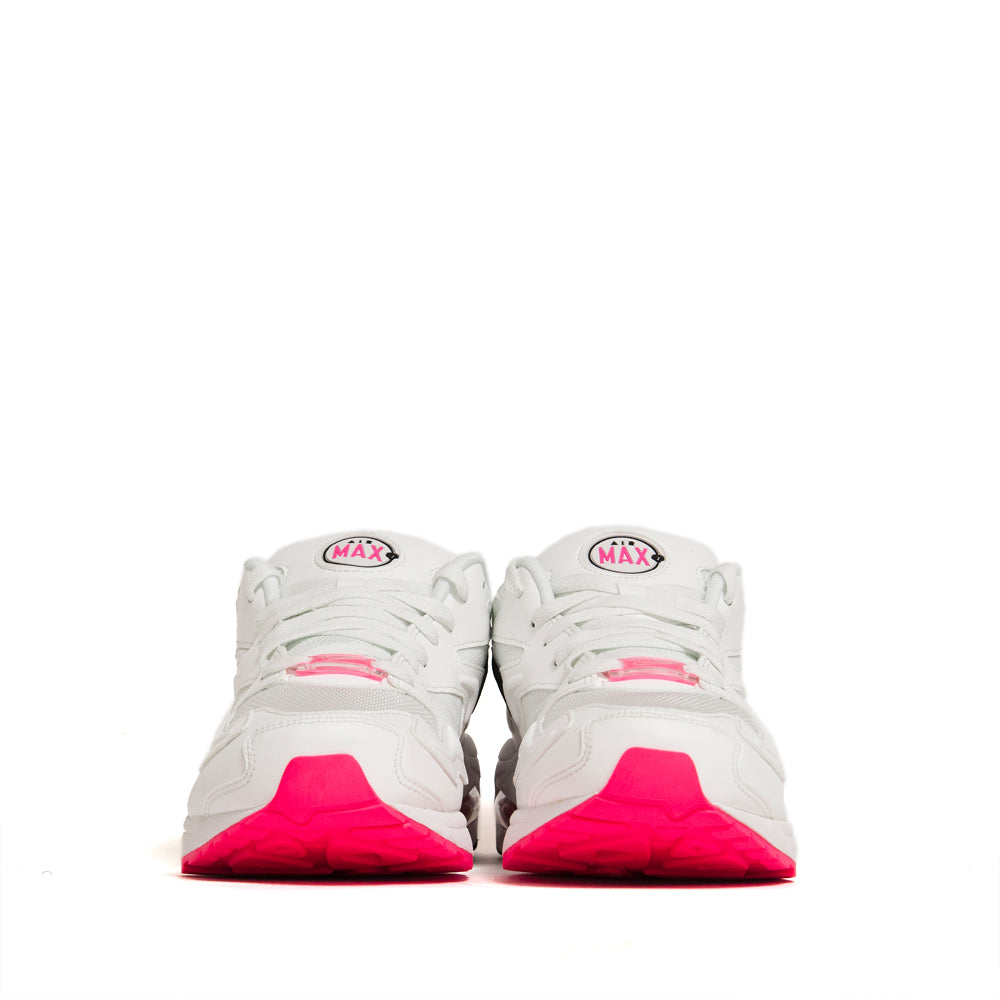 Nike Air Max2 Light Summit White/Black/Hyper Pink at shoplostfound, front
