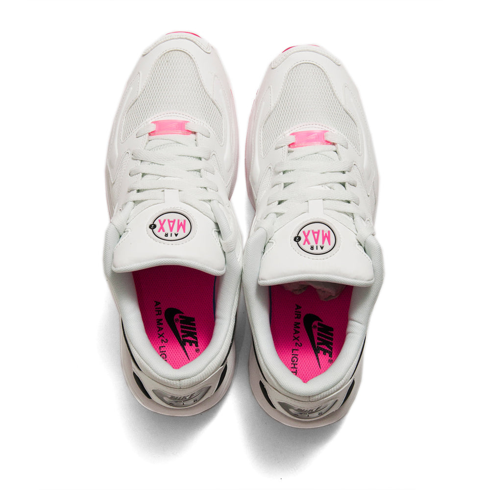 Nike Air Max2 Light Summit White/Black/Hyper Pink at shoplostfound, top