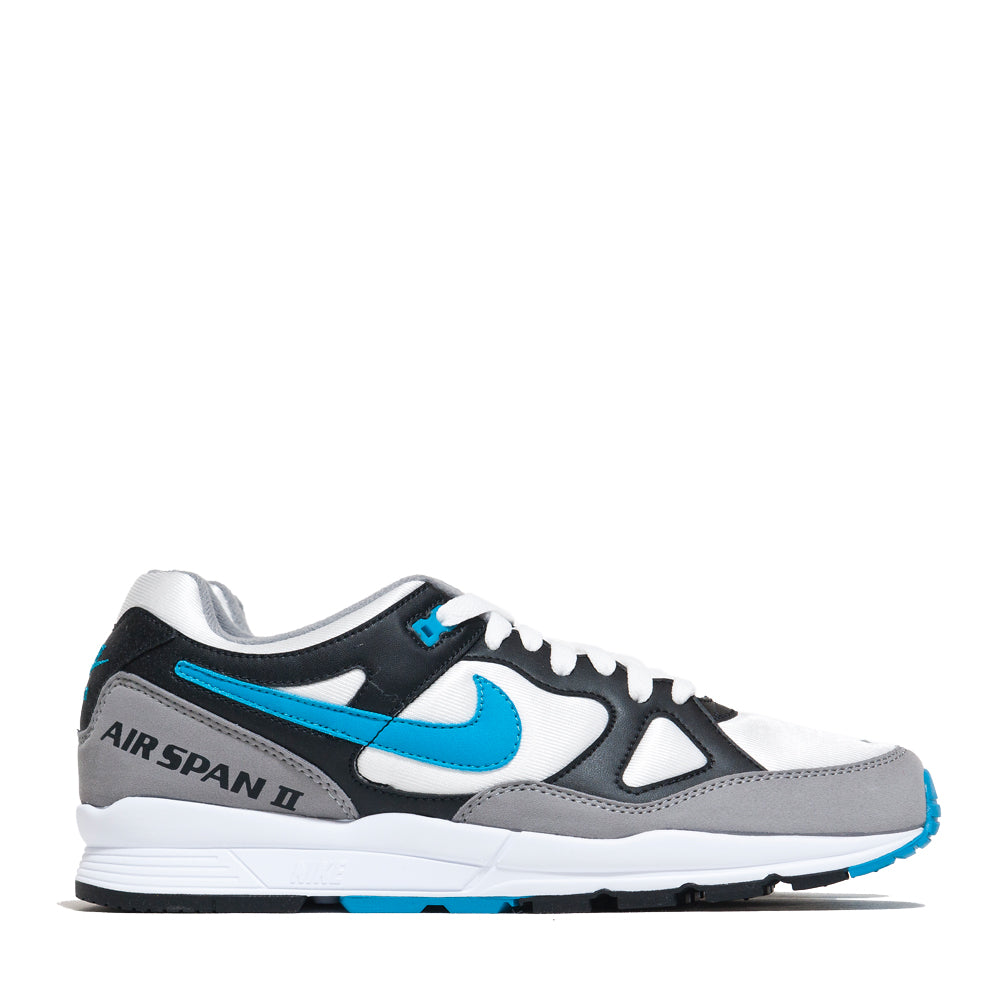 Nike Air Span II Laser Blue at shoplostfound, side