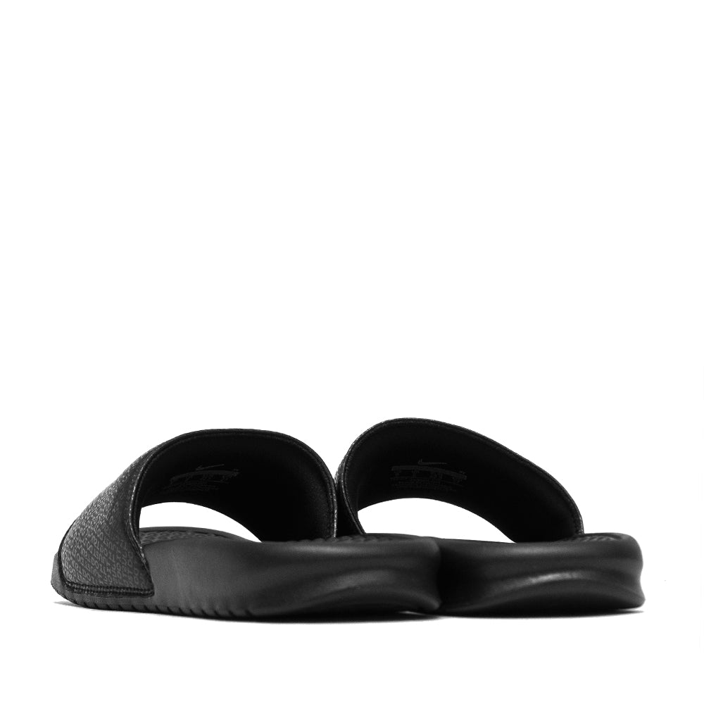 Nike Benassi JDI Black/Black at shoplostfound, back