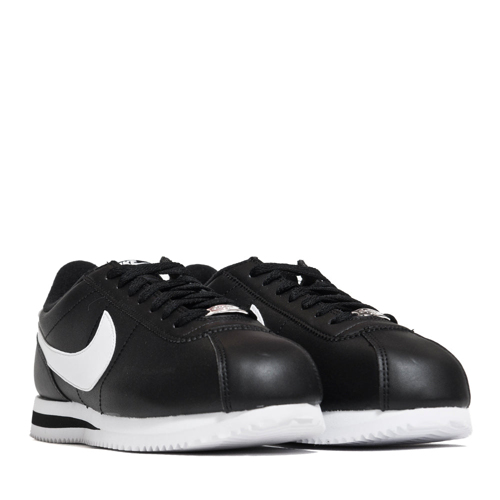 low priced 614a7 cbdab Nike Cortez Basic Leather Black/White