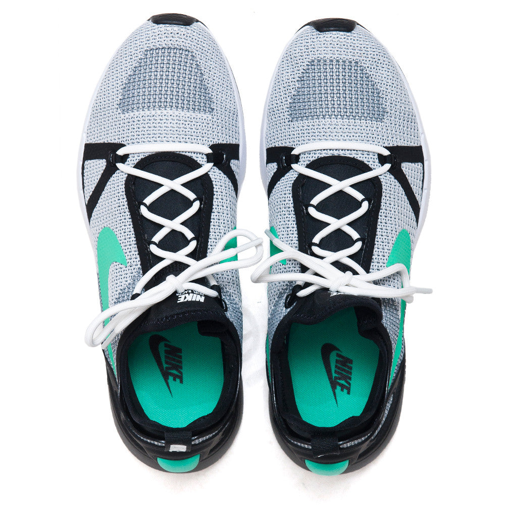 Nike Duel Racer White/Menta/Black at shoplostfound, top
