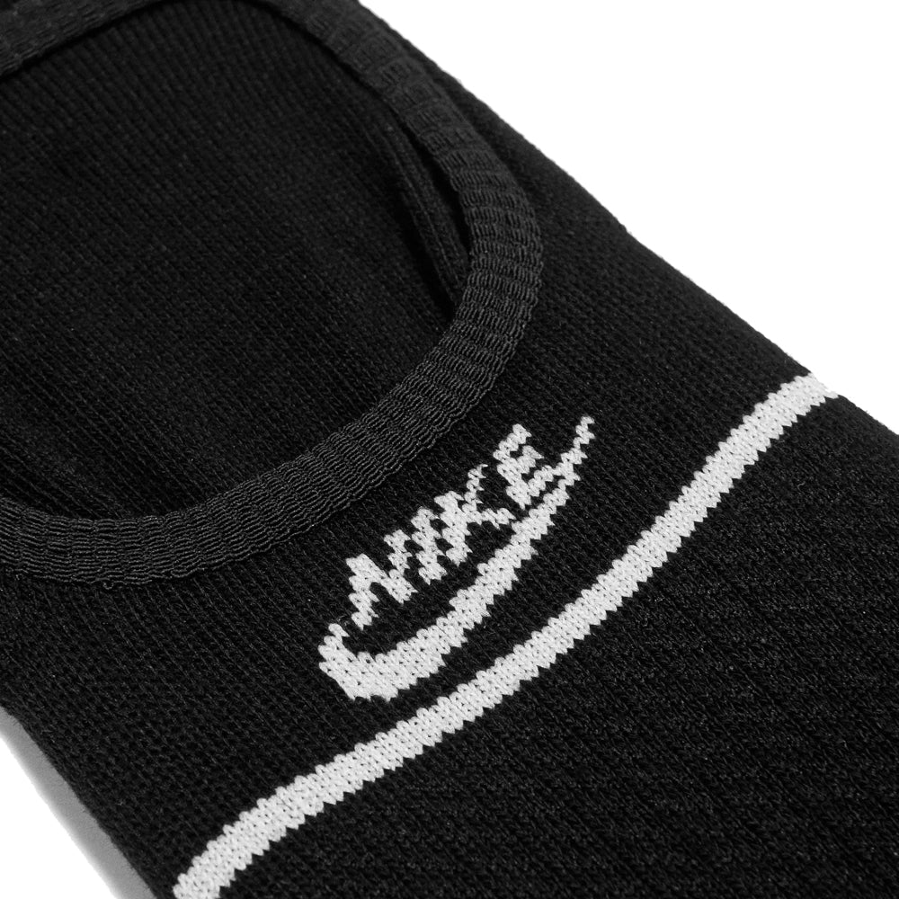 Nike SNKR Sox Essential No Show Black/White at shoplostfound, detail