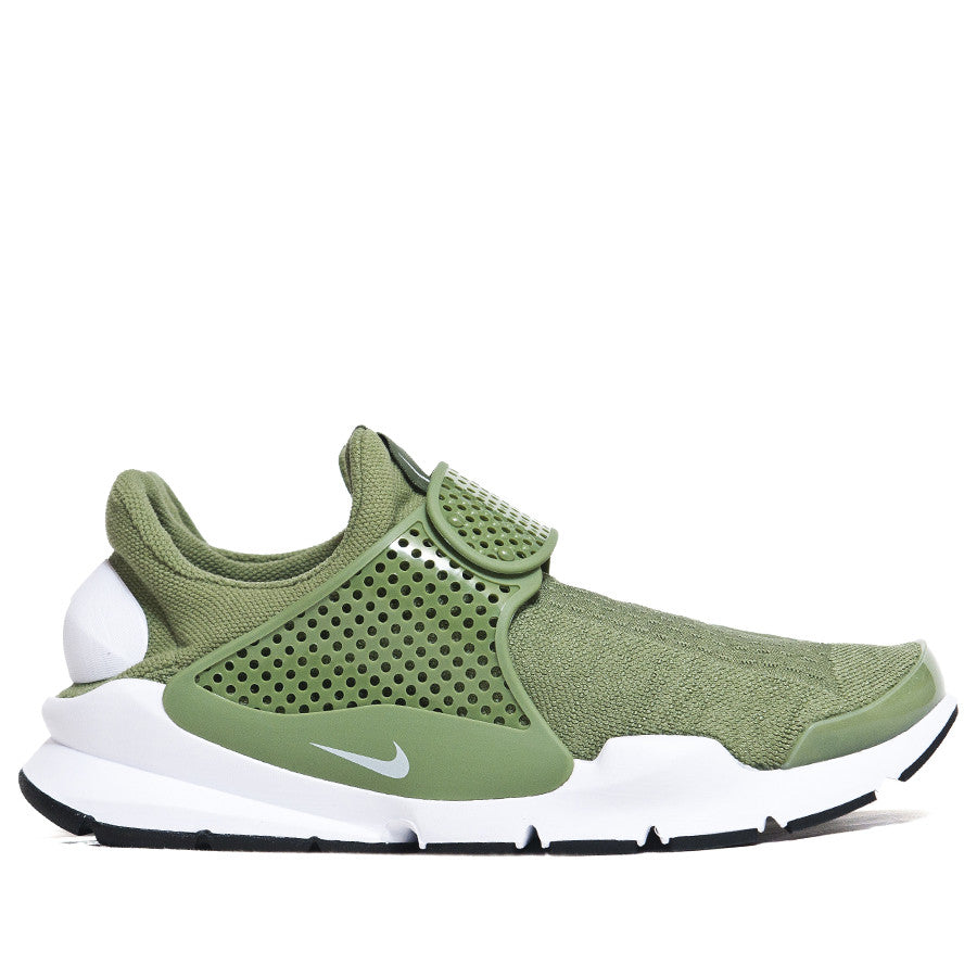 Nike Sock Dart Palm Green at shoplostfound, side