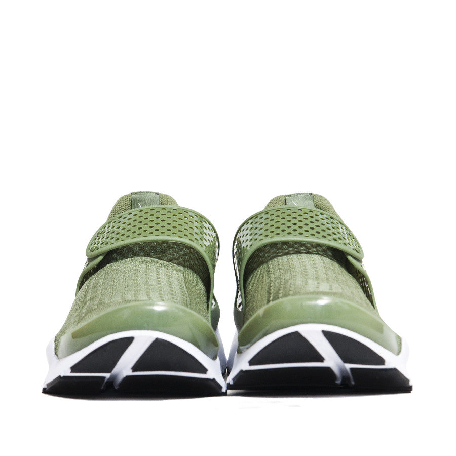 Nike Sock Dart Palm Green at shoplostfound, front