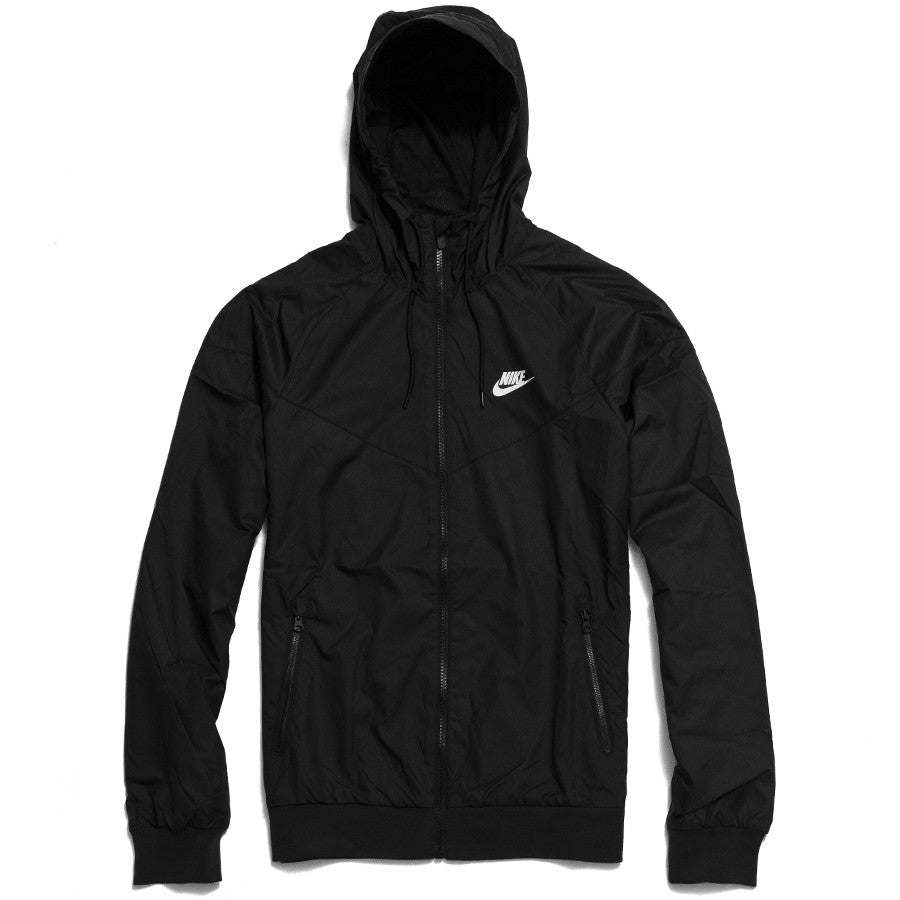 Nike Sportswear Windrunner Black at shoplostfound, front
