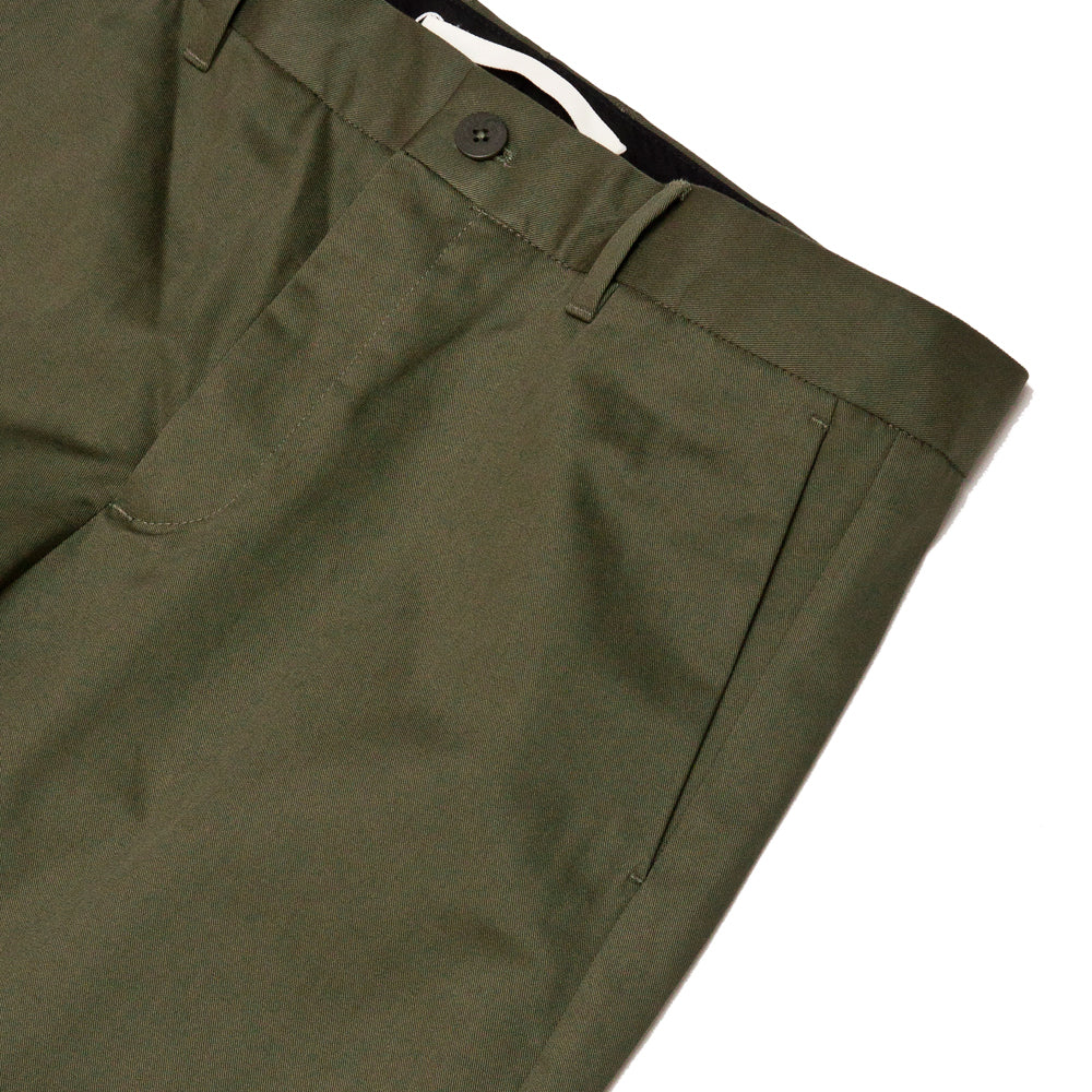 Norse Projects Albin Chino Ivy Green at shoplostfound, pocket