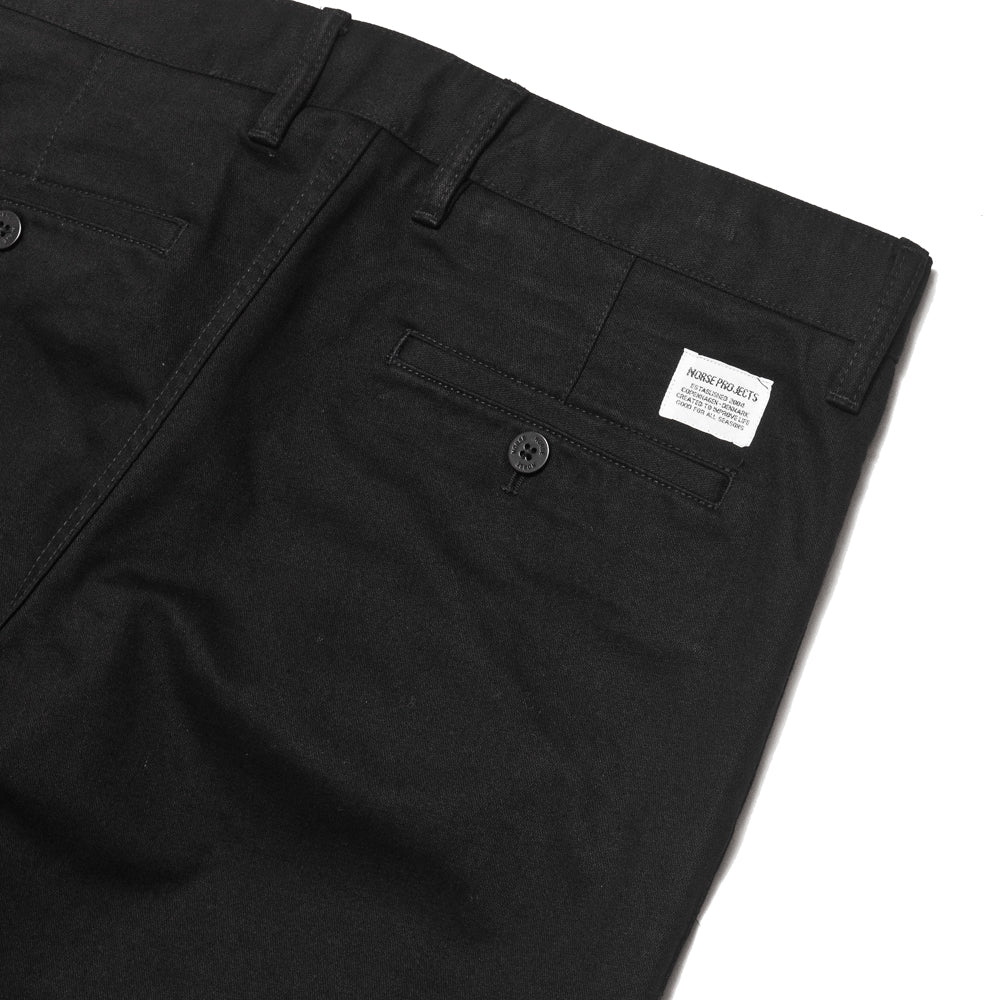 Norse Projects Aros Heavy Utility Black at shoplostfound, details