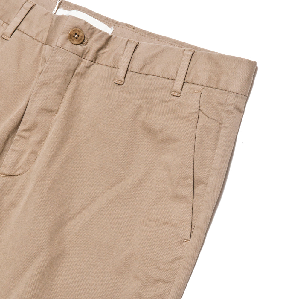 Norse Projects Aros Slim Light Stretch Utility Khaki at shoplostfound, pocket