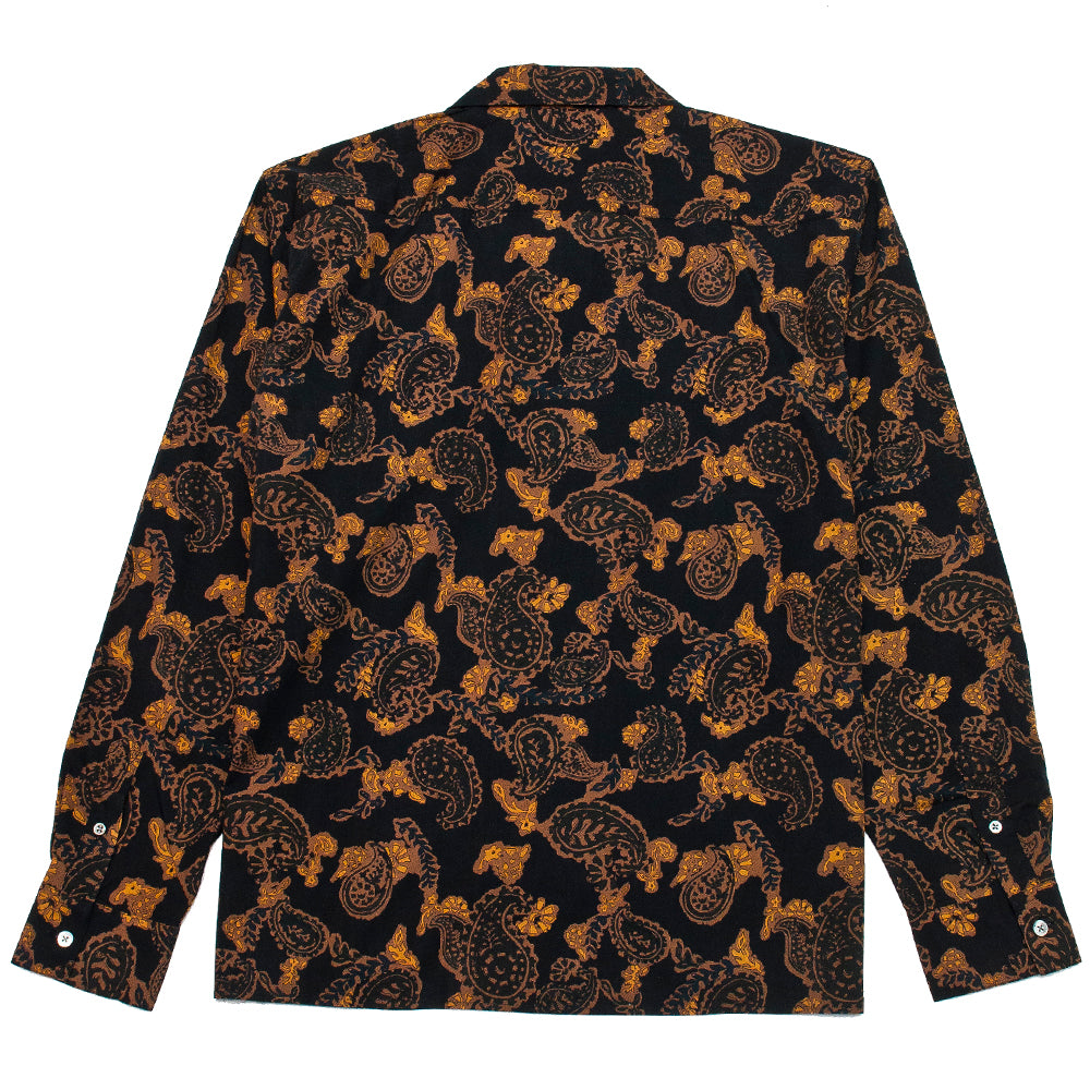 Norse Projects Carsten Paisley Black at shoplostfound, back