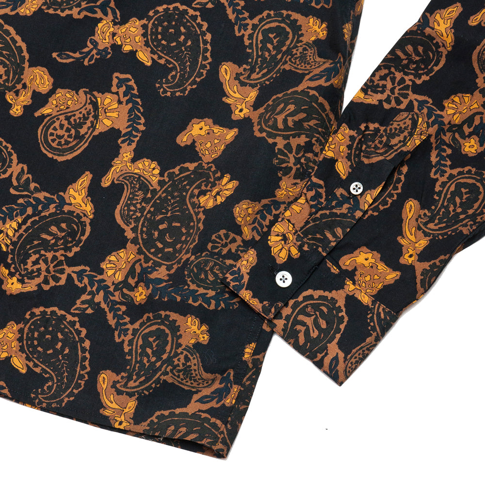 Norse Projects Carsten Paisley Black at shoplostfound, cuff